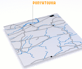 3d view of Ponyatovka