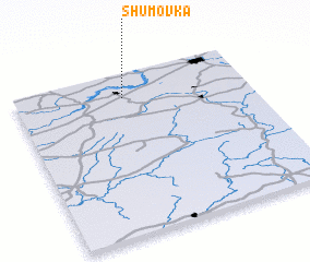 3d view of Shumovka