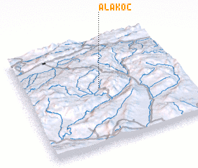 3d view of Alakoç