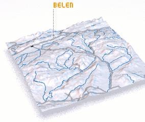 3d view of Belen
