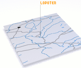 3d view of Lopoten\