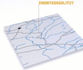 3d view of Sukhiye Gogolitsy