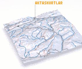 3d view of Aktaşkurtlar