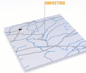 3d view of Kapustino