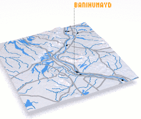 3d view of Banī Ḩumayd