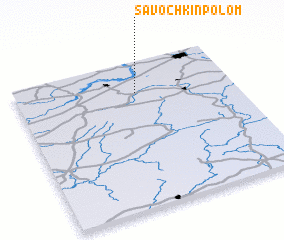 3d view of Savochkin Polom