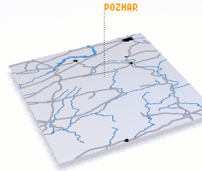 3d view of Pozhar\