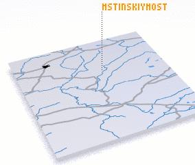 3d view of Mstinskiy Most