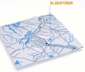 3d view of Al 'Aḑayīmah