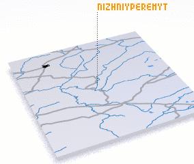 3d view of Nizhniy Peremyt
