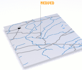 3d view of Medved\