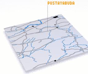 3d view of Pustaya Buda