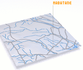 3d view of Mabatane