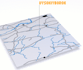 3d view of Vysokiy Borok