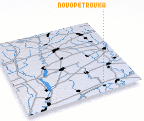 3d view of Novopetrovka