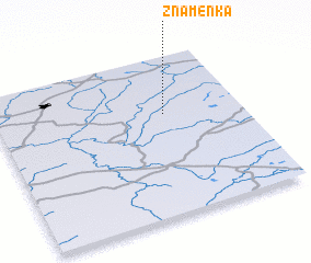 3d view of Znamenka