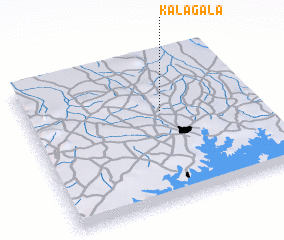 3d view of Kalagala