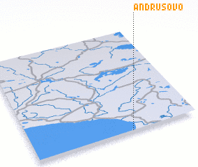 3d view of Andrusovo