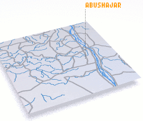 3d view of Abū Shajar