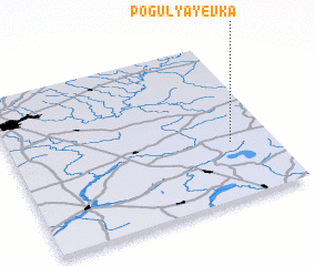 3d view of Pogulyayevka
