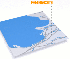 3d view of Podberezh\