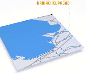 3d view of Krikachëv Posad