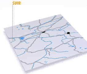 3d view of Svir\