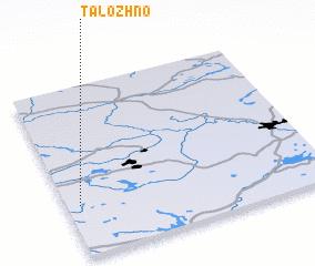3d view of Talozhno