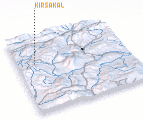 3d view of Kırsakal