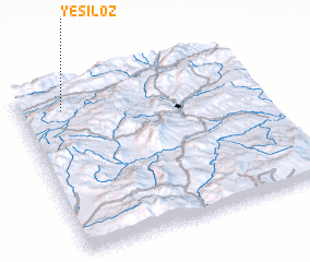 3d view of Yeşilöz