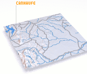 3d view of Canhaúfe