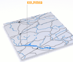 3d view of Kolpinka