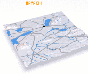 3d view of Kayacık