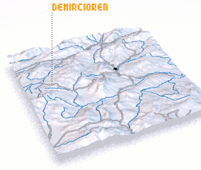 3d view of Demirciören