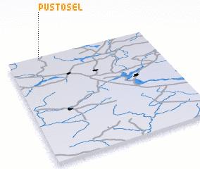 3d view of Pustosël