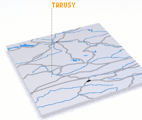 3d view of Tarusy