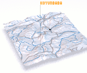 3d view of Koyunbaba