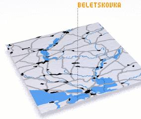 3d view of Beletskovka