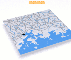 3d view of Magamaga