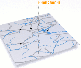 3d view of Kharabochi