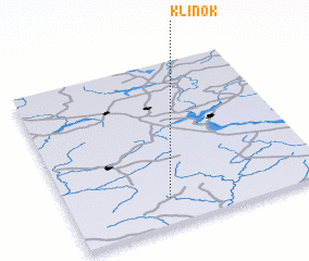 3d view of Klinok