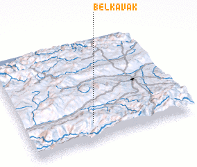 3d view of Belkavak