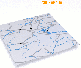 3d view of Shumorovo