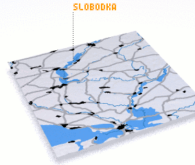 3d view of Slobodka