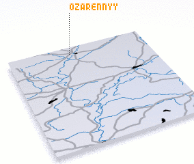 3d view of Ozarennyy