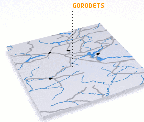 3d view of Gorodets