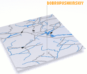 3d view of Dobropushkinskiy