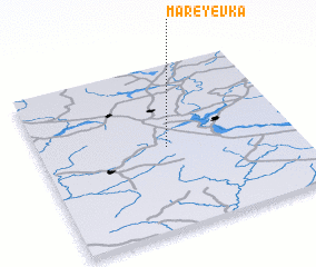 3d view of Mareyevka