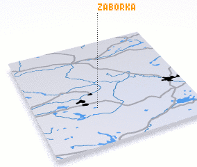 3d view of Zaborka