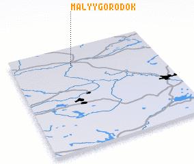 3d view of Malyy Gorodok